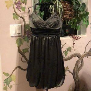 Trixxi Halter Dress- Formal or Cocktail Size S
